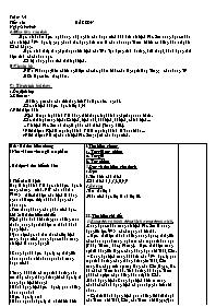 Bài soạn Ngữ văn 9 - Tiết 161: Bắc Sơn