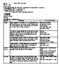 Bài soạn Ngữ văn 9 - Tiết 167, 168: Tổng kết