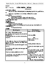Giáo án Ngữ văn 7 - Tuần 1 - Nguyễn Duy Tiến