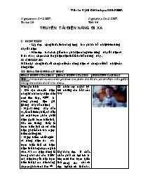 Giáo án Ngữ Văn 9 - Tiết 40, 41, 42