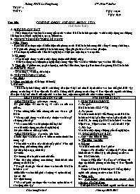 Giáo án Ngữ văn 9 - Tuần 1 đến 7 - GV: Trần V