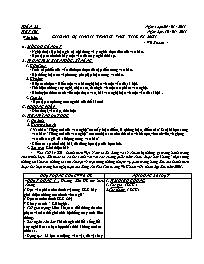 Giáo án Ngữ văn 9 - Tuần 22 - GV: Trần Văn Hu