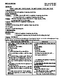 Giáo án Ngữ văn 9 - Tuần 27 - GV: Trần Văn Hu