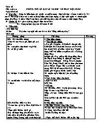 Giáo án Ngữ văn lớp 7 - Tiết 109, 110: Những
