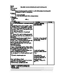 Giáo án Ngữ văn lớp 7 - Tiết 87: Tìm hiểu chu