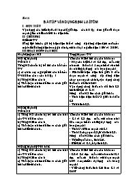 Giáo án Vật lí 9 - Bài 6 đến 10