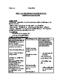 Giáo án Vật lí 9 - Tiết 7: Sự phụ thuộc của đ